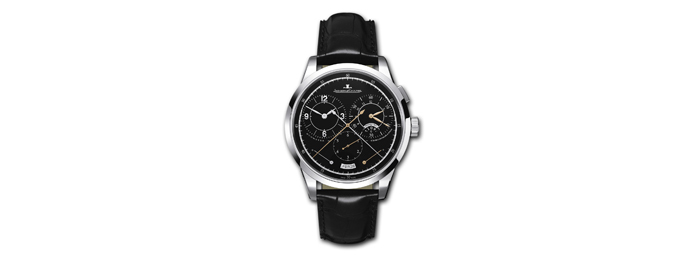 Swiss White Gold Jaeger-Lecoultre Duometre Chronograph Replica Watches